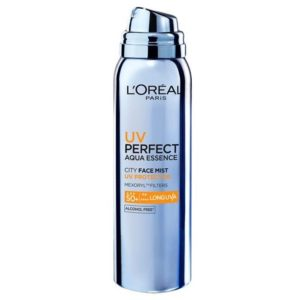 L'oreal UV Perfect Aqua Essence City Face Mist SPF 50