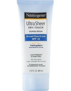 Neutrogena Ultra Sheer Sunscreen SPF 45
