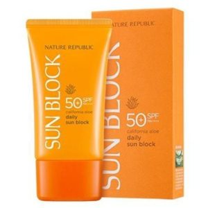 Nature Republic California Aloe Daily Sun Block SPF 50