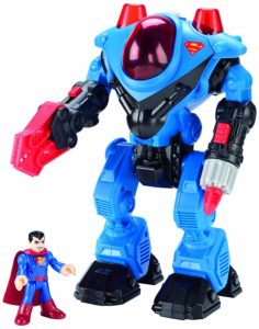 Action Figure Superman and Exoskeleton Suit