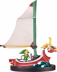 Action Figure The Wind Waker Link & King of Red Lions