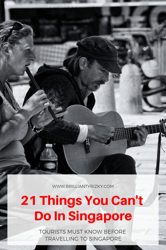 Playing Music - 21 Things You Can't Do In Singapore