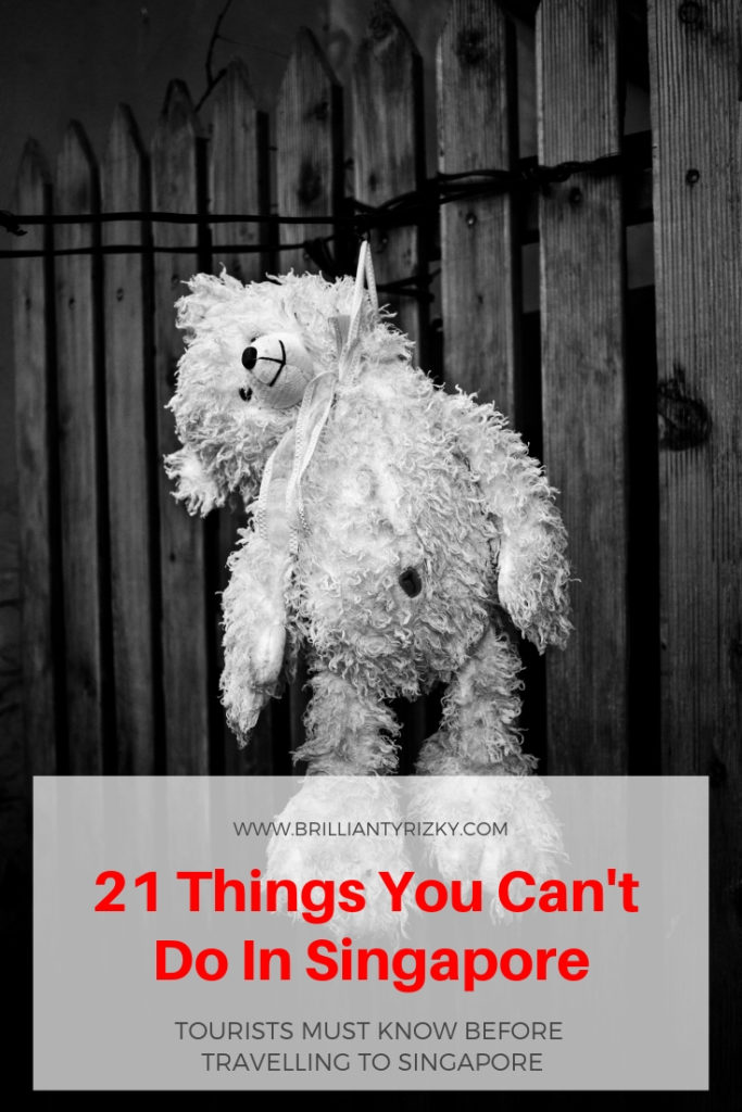 Suicide - 21 Things You Can't Do In Singapore
