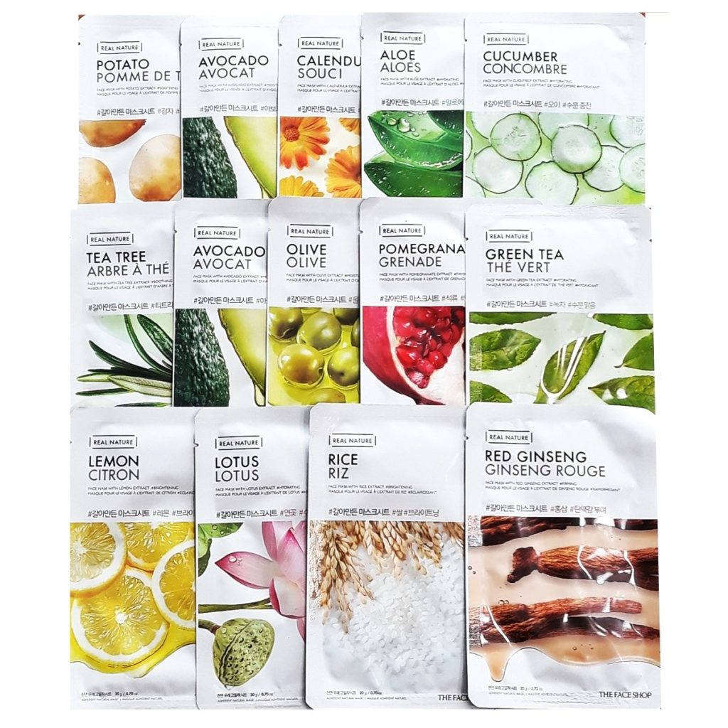The Face Shop Nature Sheet Mask