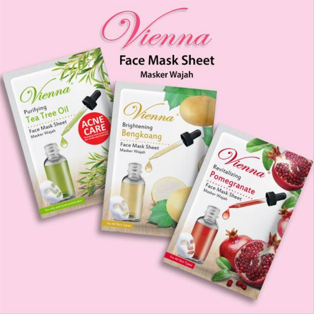 Vienna Face Sheet Mask