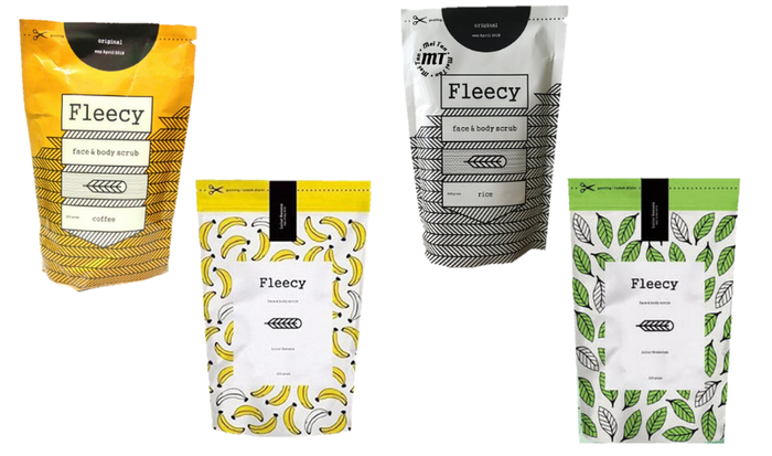 Fleecy Body Scrub