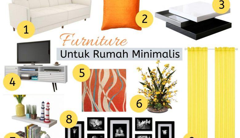 9 Furniture Ruang Tamu Rumah Type 36 atau 45