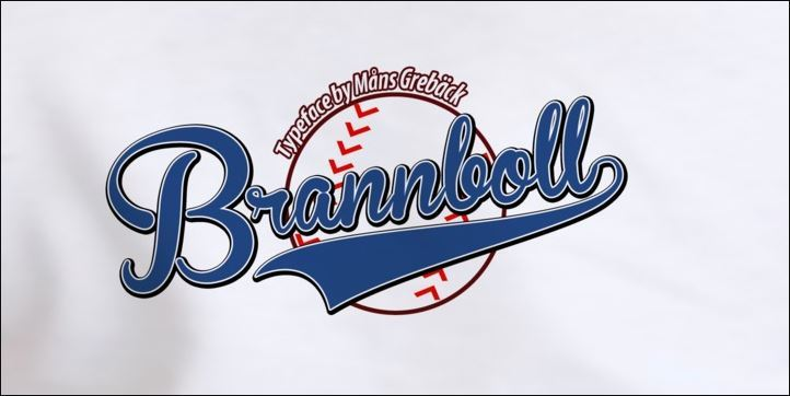 Download Free Font Brannboll