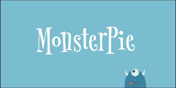 Download Free Font Monsterpie