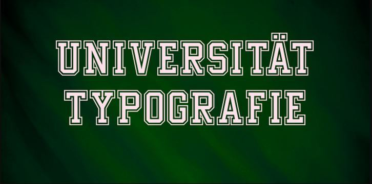 Download Free Font Undergrad from MyFonts.com
