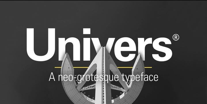 Download Free Font Universe from MyFonts.com